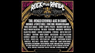 TOOL, AVENGED SEVENFOLD, ALICE IN CHAINS To Headline Next Year's ROCK ON THE RANGE