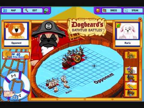 Playing Dogbeardu0027s Bathtub Battles On Webkinz!