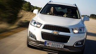 Chevrolet Captiva I 2 й рестайлинг 2013 кроссовер