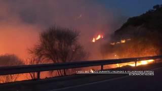 L'Ogliastra in fiamme