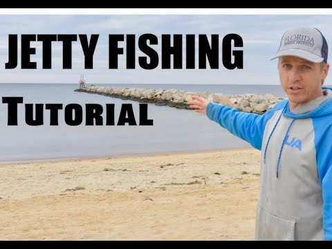 HOW TO FISH A JETTY - JETTY FISHING TIPS And TUTORIAL