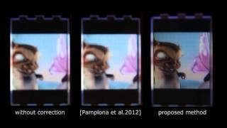 Siggraph 2014: Eyeglasses-free Display: Towards Correcting Visual Aberrations thumbnail