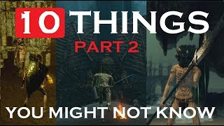 10 things you might not know   Dark Souls Remastered   Part 2