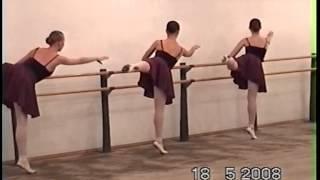 """Школа-студия ,,Казань""""-Урок классического танца"""