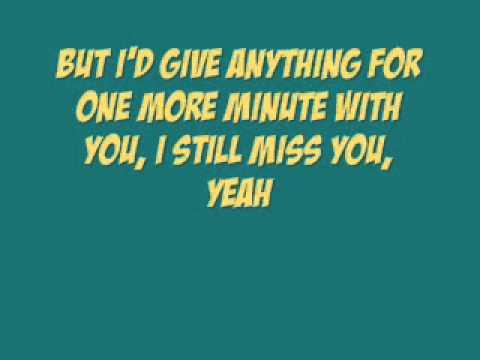 [On Screen Lyrics] Keith Anderson - I Still Miss You