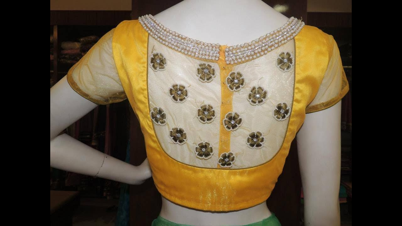 Blouse designs saree blouse back designs blouses neck designs 30 jpg - Blouse Designs Saree Blouse Back Designs Blouses Neck Designs 30 Jpg 43