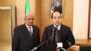 تصريح السيد أحمد معيتيق لوسائل الإعلام في العاصمة الجزائر