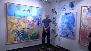 Nagamoto Hideo 永本秀男展 Exhibition at Shibata Etsuko Gallery (B) - (120619)