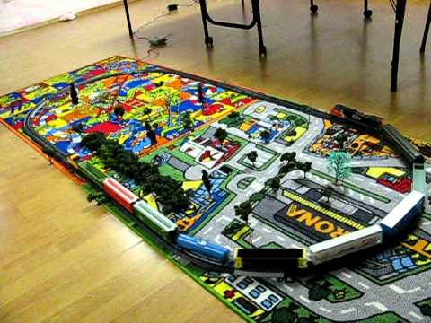 Model Train set for sale (Used to be) - YouTube