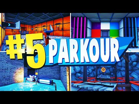 TOP 5 FUN PARKOUR Creative Maps In Fortnite | Fortnite Fun Parkour Maps (WITH CODES)