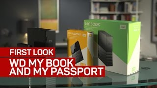 WD s new My Book and My Passport external drives