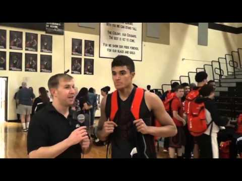 Liberty Point and Shooting Guard Carter Brown 1 29 2016