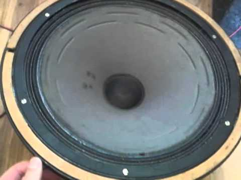 Old russian cinema speaker 2A-12U4 (2A-12У4) - part1