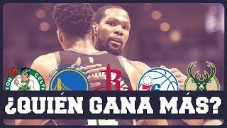 ENFRENTAMOS A LOS 10 MEJORES EQU POS DE LA NBA