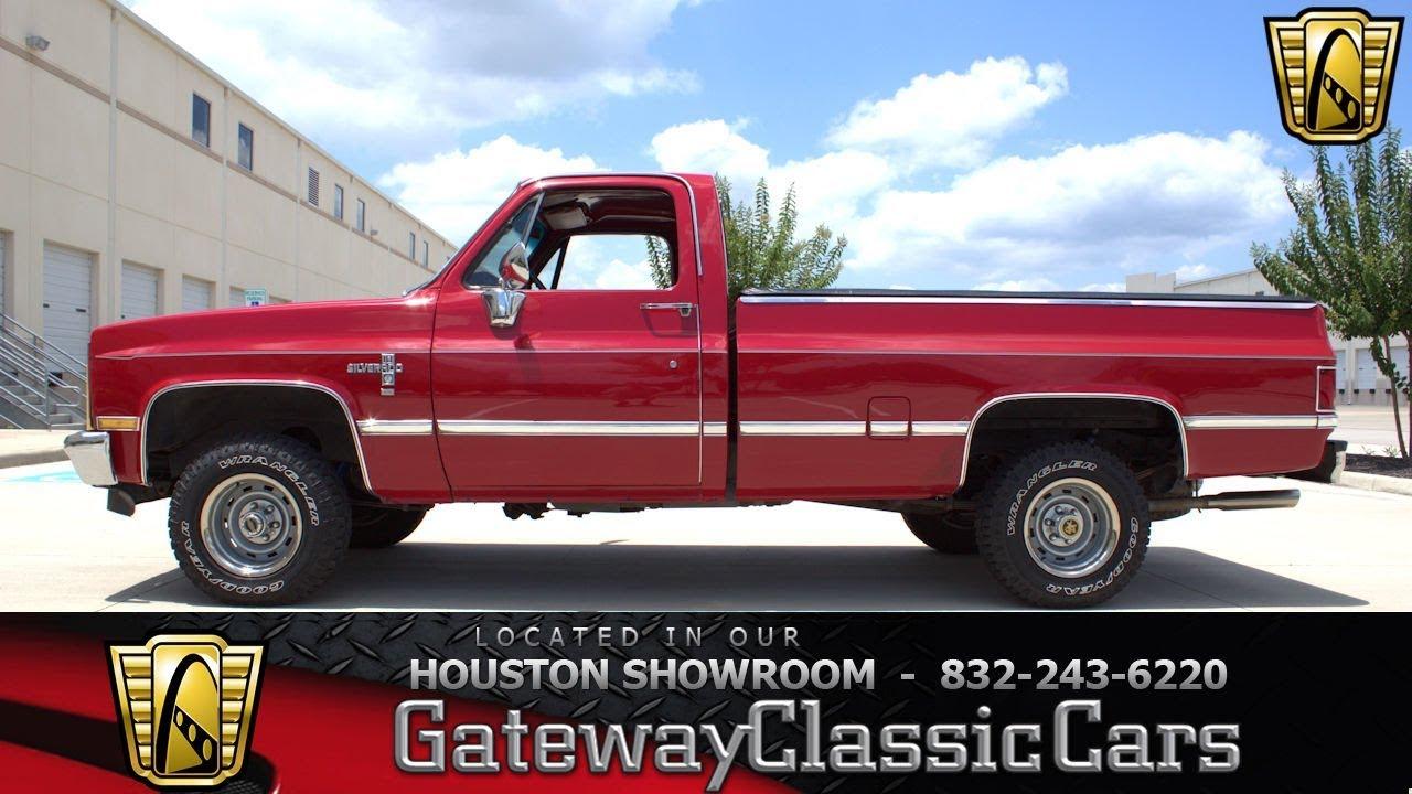 1982 Chevrolet Silverado Gateway Classic Cars 1247 Houston Showroom