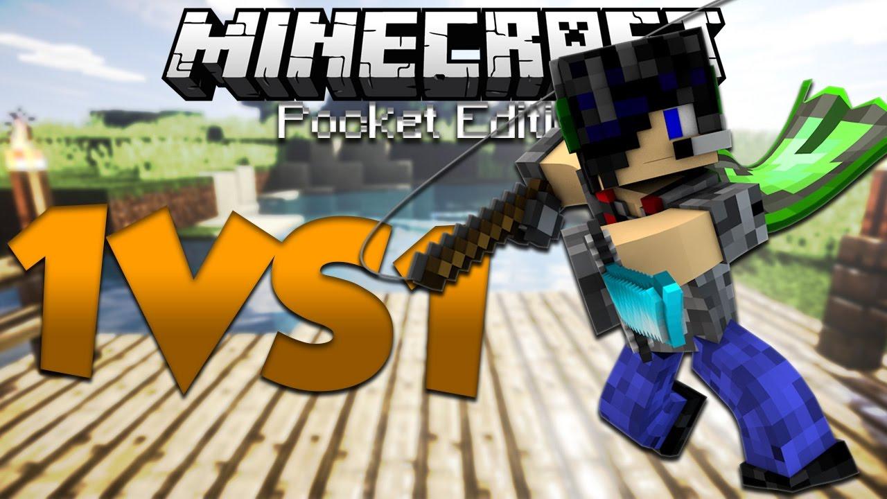 I M Getting Better Mcpe 1vs1 Duels Server Minecraft Pe