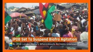 Nigeria News Today: IPOB Set To Suspend Biafra Agitation As IPOB (26/01/2018)