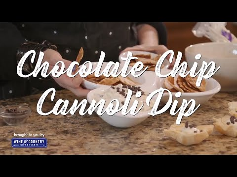 Chocolate Chip Cannoli Dip - A Quick And Easy Dessert Recipe