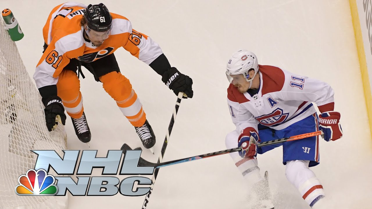 NHL Stanley Cup First Round: Canadiens vs. Flyers | Game 1 EXTENDED HIGHLIGHTS | NBC Sports