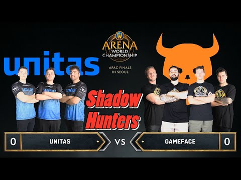Shadow Hunters | FINAL UB | Unitas vs Gameface | 2019 AWC Asia Pacific Finals