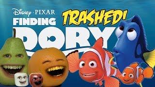Annoying Orange - FINDING DORY TRAILER Trashed!!