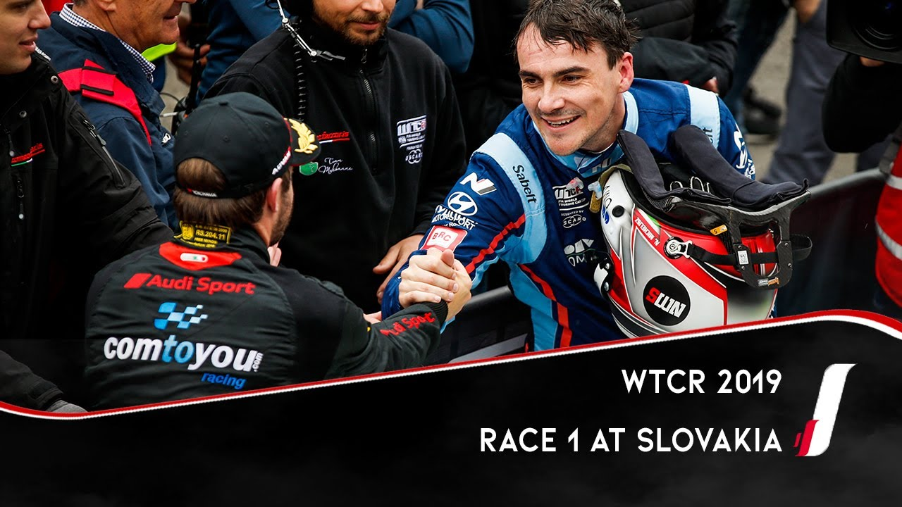 Race 1 - 2019 Slovakia ring - Vervisch rose from ninth on the grid to win