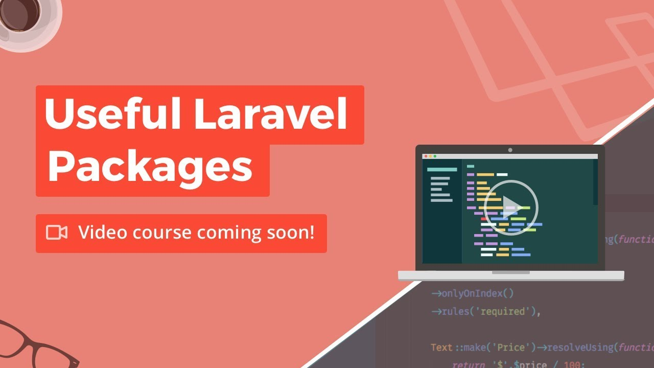 Useful Laravel Packages - Build Course Landing Page
