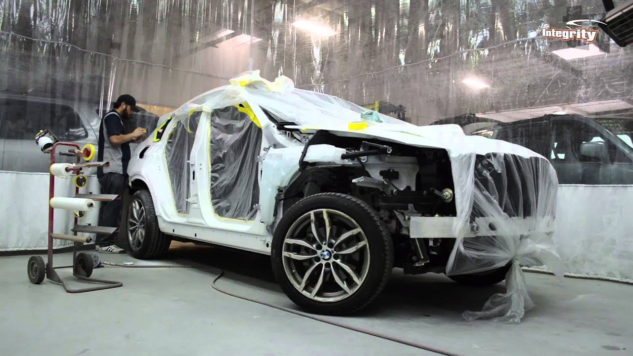 Repair process before and after of a 2016 bmw x4 youtube for South motors bmw collision center