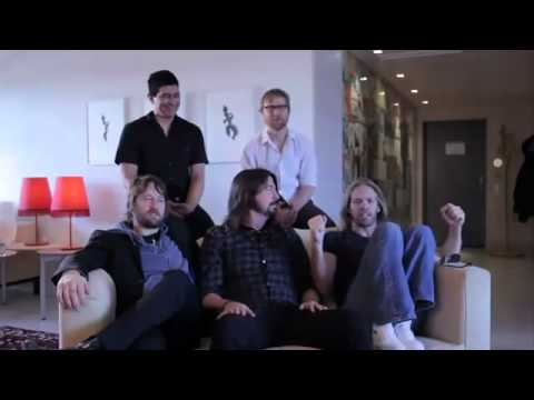 Foo Fighters talking about Creed's video
