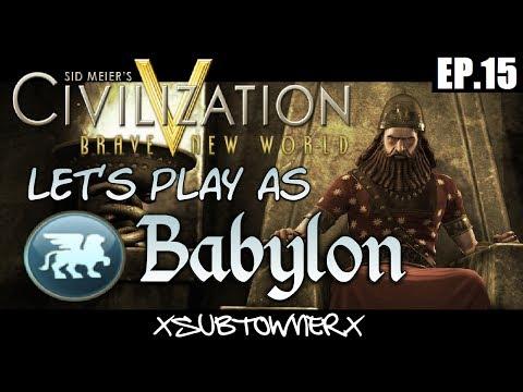 Civ 5 - Babylon - Poland, My Archrival [P15]