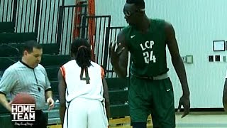 7'6 Tacko Fall Records Triple Double To Start The Season
