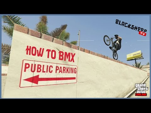 GTA 5 - How To Ride BMX For Beginners - Best Tutorial In Street