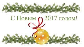 Артисты, друзья сети «Мир Музыки», поздравляют с Новым 2017 годом!