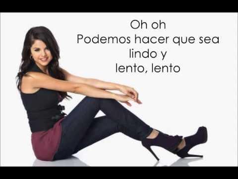 selena gomez -slow down sub español
