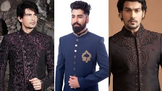 Wedding Sherwani For Boy's 2019-20 | Indian Pakistani Sherwani Design | Groom Sherwani Design screenshot 2