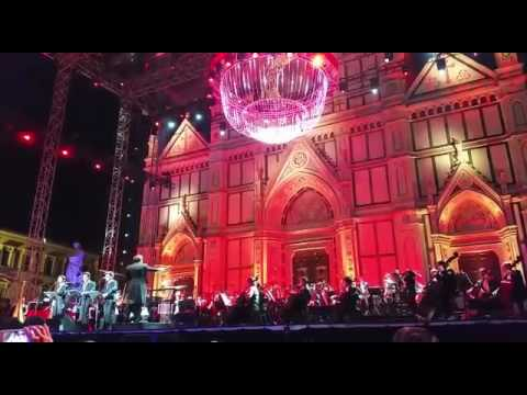 Il Volo  Placido Domingo  Tribute Konzert Florenz 1 Juli  O surdato nnammurato
