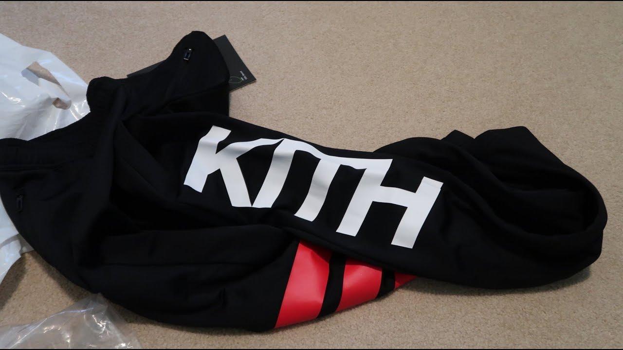346028619c9 Adidas x Kith Cobras Track Pant Pickup Unboxing - YouTube