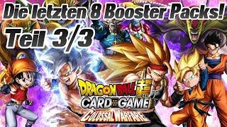 COLOSSAL WARFARE Display Booster Packs Opening! 😍 TEIL 3/3 | Dragon Ball Super Card Game Deutsch