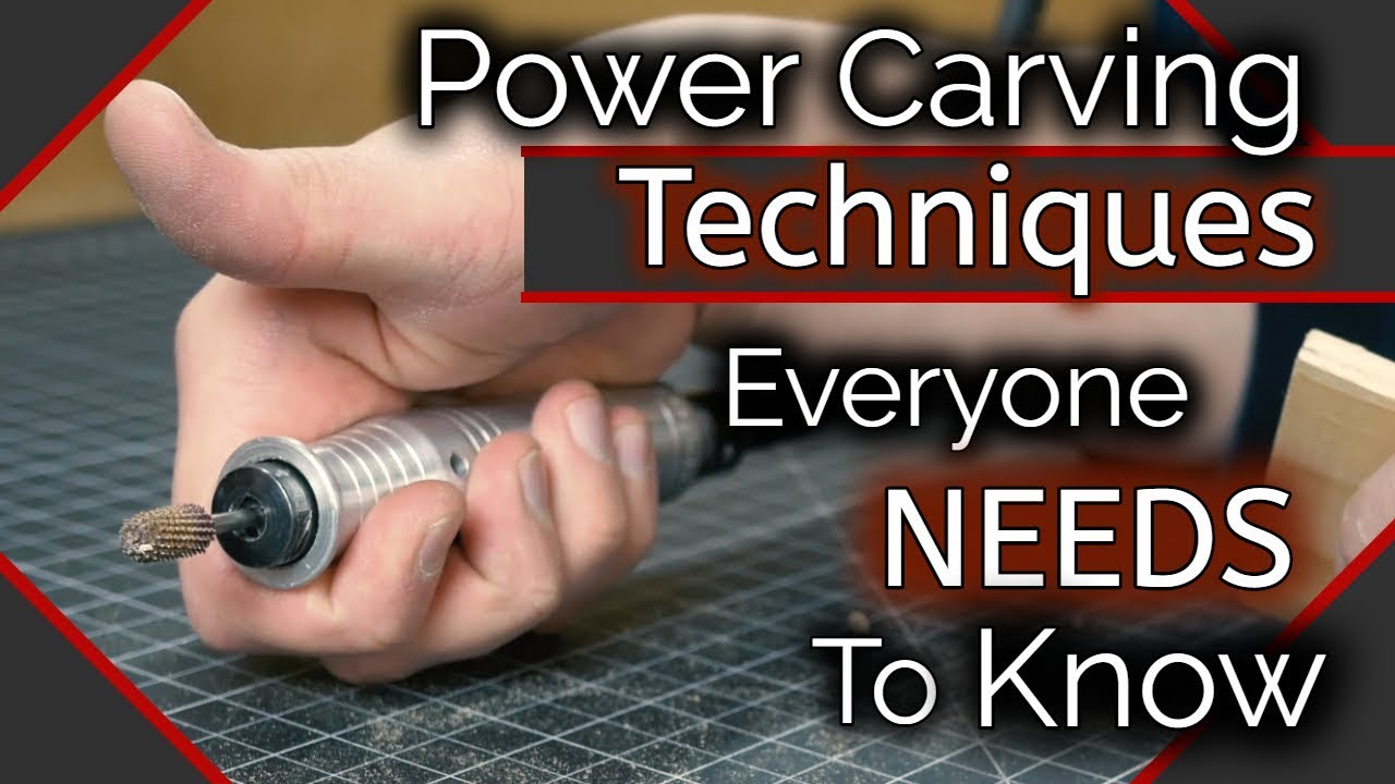 Wood Carving Power Carving Techniques You Need To Know