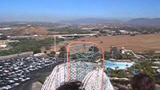 Goliath - Roller Coaster at Six Flags  Los Angeles Thumbnail