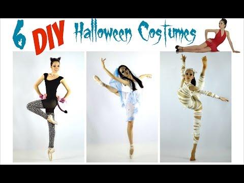 Easy DIY Halloween Costumes for Dance!