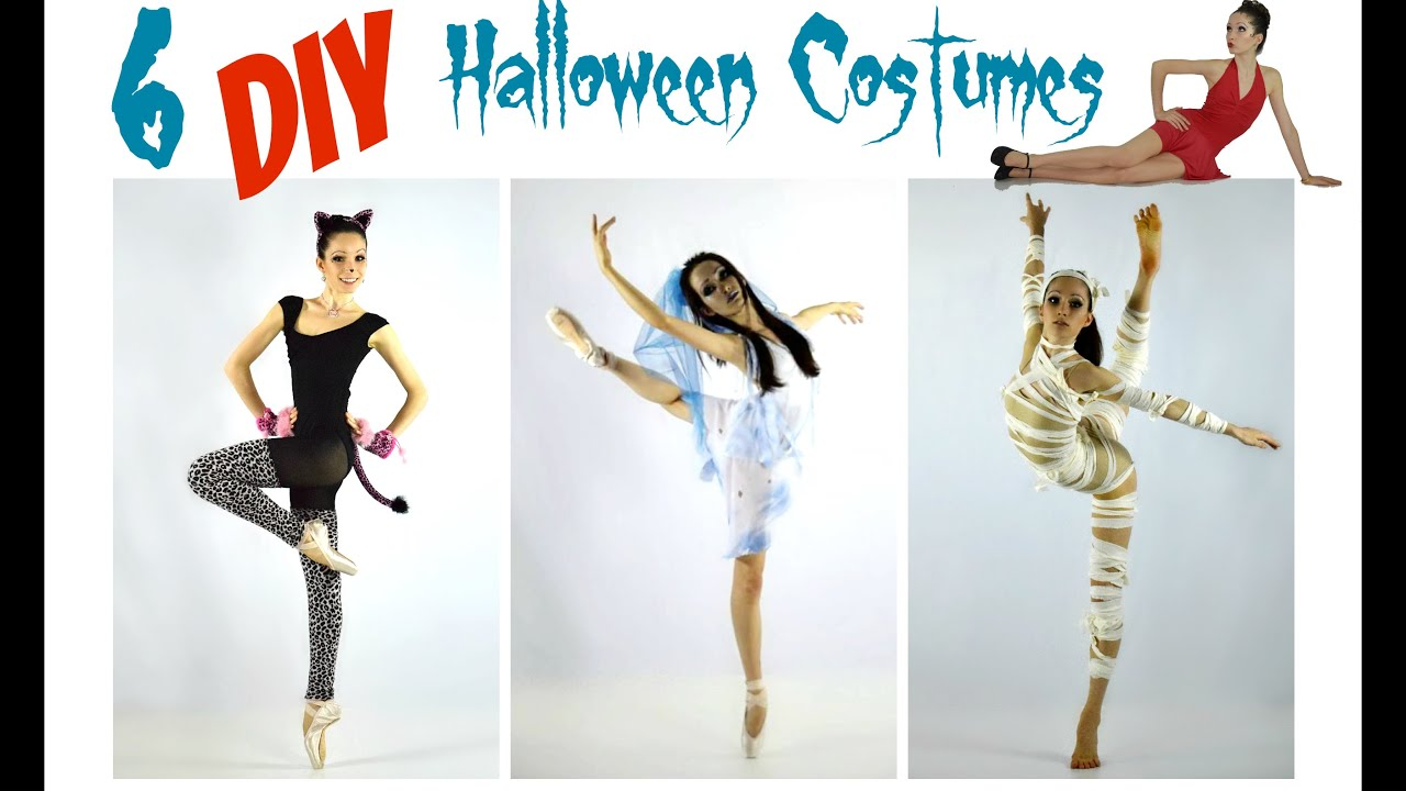 Easy DIY Halloween Costumes for Dance! - YouTube