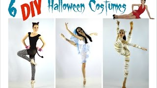 Easy DIY Halloween Costumes for Dance!