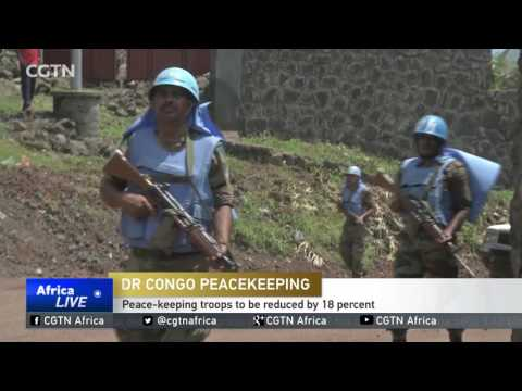 United Nation Security Council to reduce peace-keepers in the DR Congo