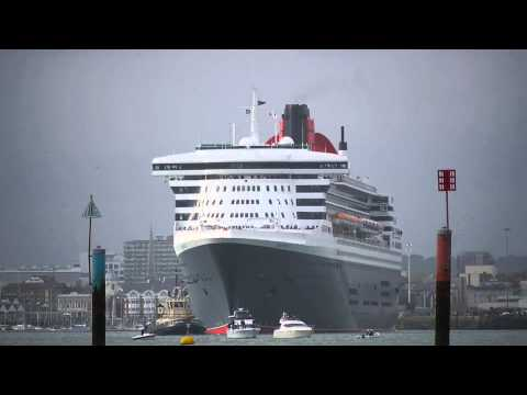 The 3 Queens leave Southampton