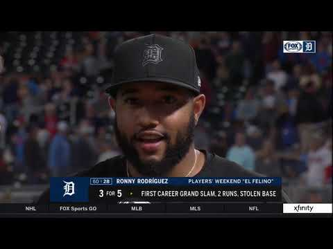 Rodriguez hits grand slam, VerHagen strikes out 11 as Tigers top Twins 9-6   FOX Sports