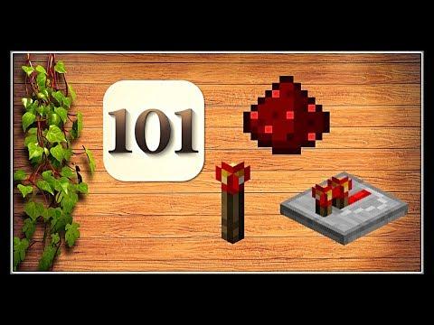 Minecraft Tutorial : 101 Redstone  ( Part 1 )