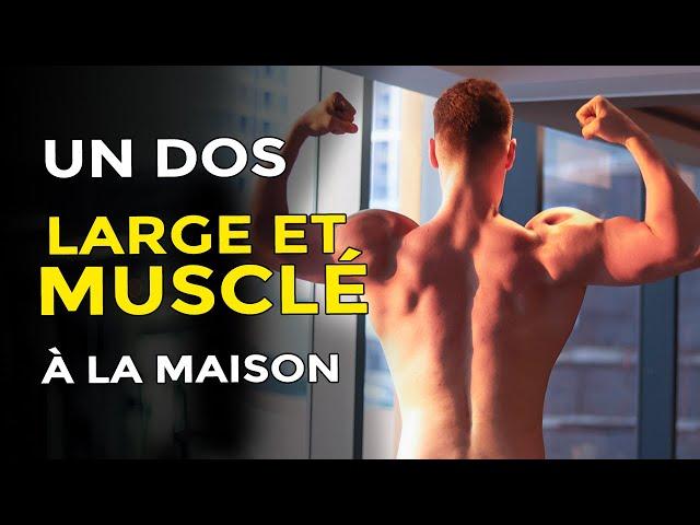 3 EXERCICES MAGIQUES POUR UN DOS LARGE À LA MAISON