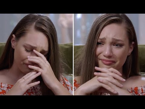 Maddie Ziegler BREAKS DOWN On Live Television; Cries In Front Of 3 Million Viewers
