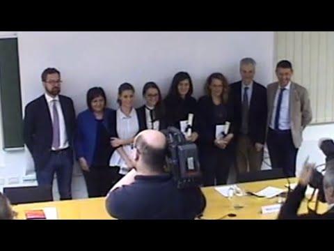 XIV° Premio di laurea CGIL, CISL e UIL del Trentino per le migliori tesi sul mondo del lavoro
